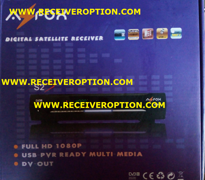 AZFOX S2S HD RECEIVER BISS KEY OPTION - HOW TO ENTER BISS