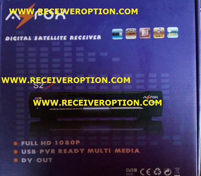 AZFOX S2S HD RECEIVER BISS KEY OPTION