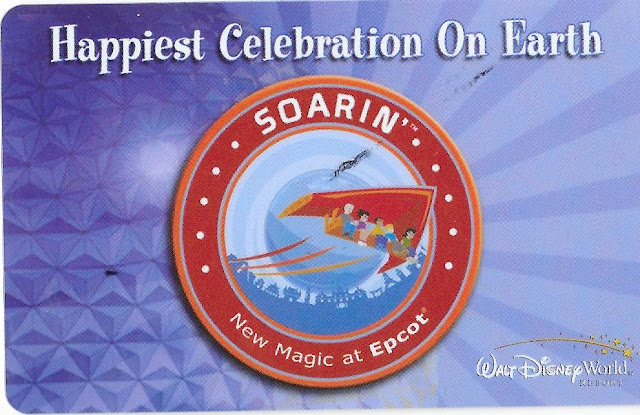 Happiest Celebration on Earth Epcot Soarin Ticket