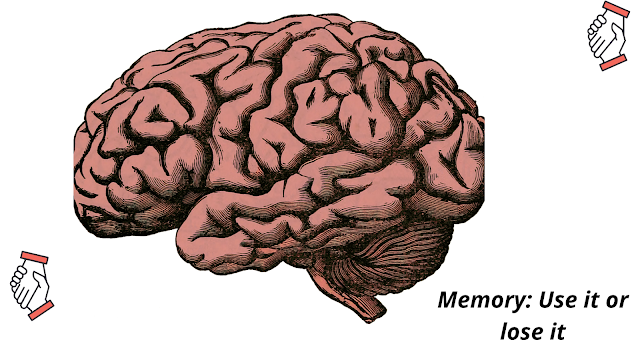 Memory: Use it or lose it|improve memory power