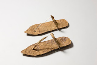 Queen Nefertari's sandals, Valley of the Queens, New Kingdom, 19th Dynasty, 1279-1213 B.C.E.