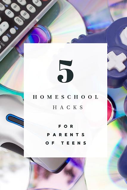 homeschool hacks for parents of teens