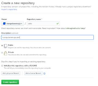 Cara Upload Script atau File Di Akun Github Secara Gratis