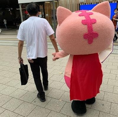 Maskot Anti-Corona di Jepang