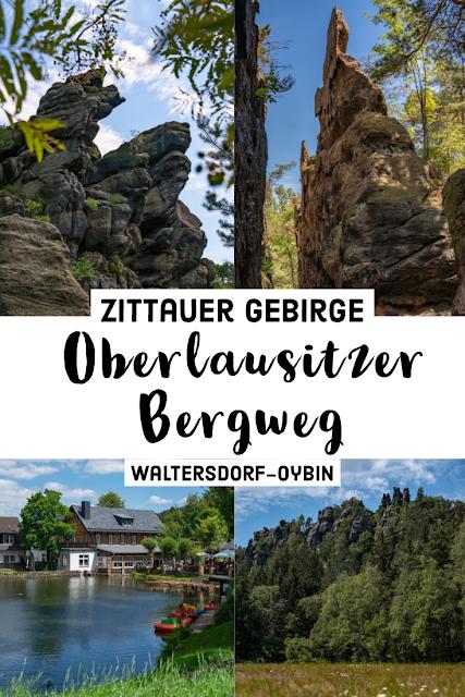 Oberlausitzer Bergweg | Etappe von Waltersdorf nach Oybin | Wandern im Zittauer Gebirge | Sachsen 31