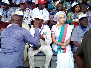 OSHIOMHOLE AND WIFE AT APC CONVENTION