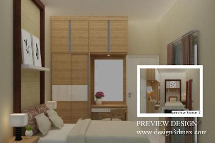 Jasa design kamar utama murah cepat dan berkualitas