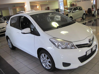 2012 Toyota Yaris 1.0 XS 5 speed 5 Door