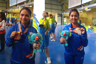India won silver and bronze in 10 m air pistol CWG 2018