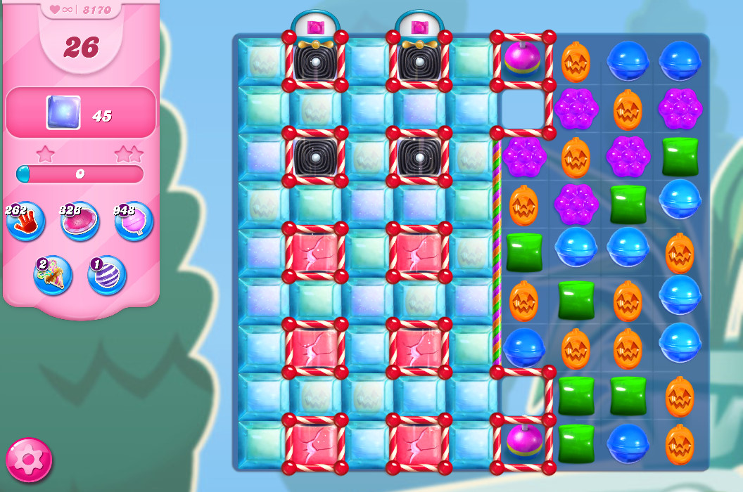 Candy Crush Saga level 8170