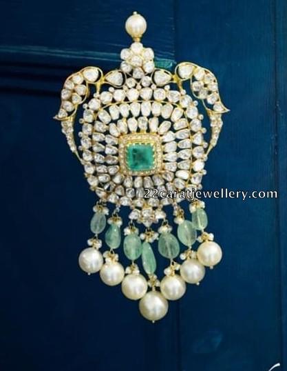 Coral Beads Set by Hiya Jewellers