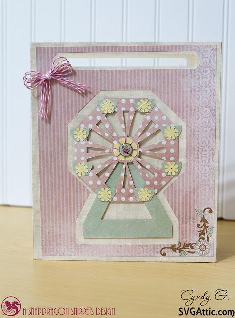 Ferris Wheel gift bag