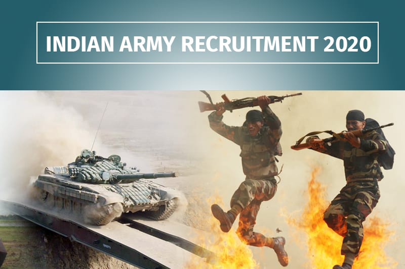 Indian Army Recruitment 2020: Apply Online