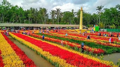 Wisata Keren Taman Bunga Tali Asmoro Pagubugan
