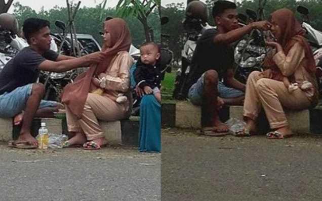 Viral! Pria Ini Lakukan Sesuatu Saat Istri Menyusui, Selanjutnya Malah Bikin Baper
