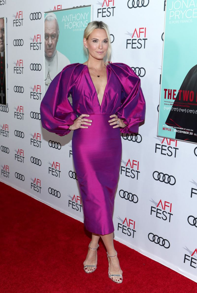 Molly Sims Clicks at The Two Popes Premiere at AFI Fest 2019 in Hollywood 18 Nov-2019