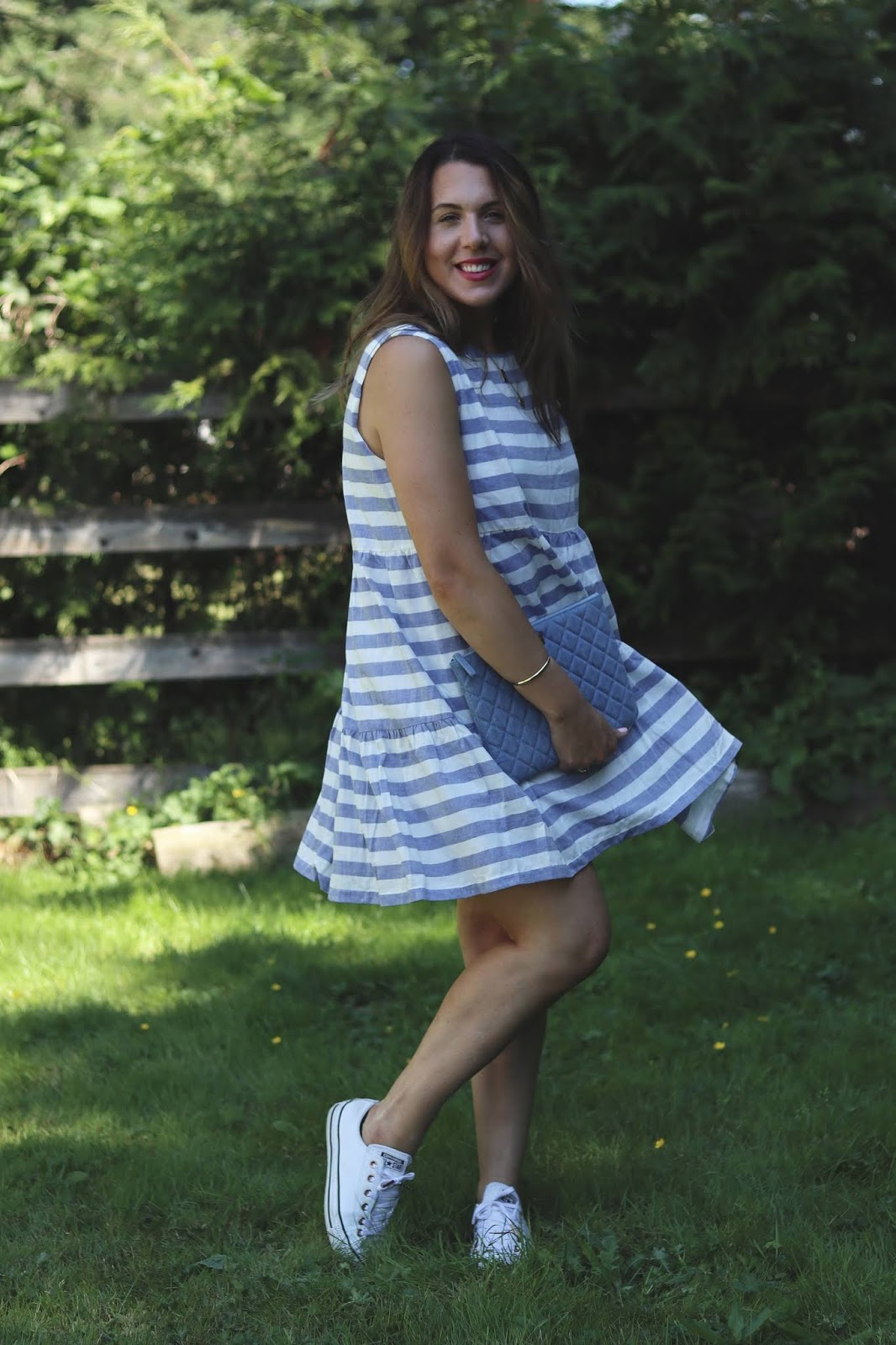 Jillian Harris x Etsy Peaches dress by Emma Knudsen