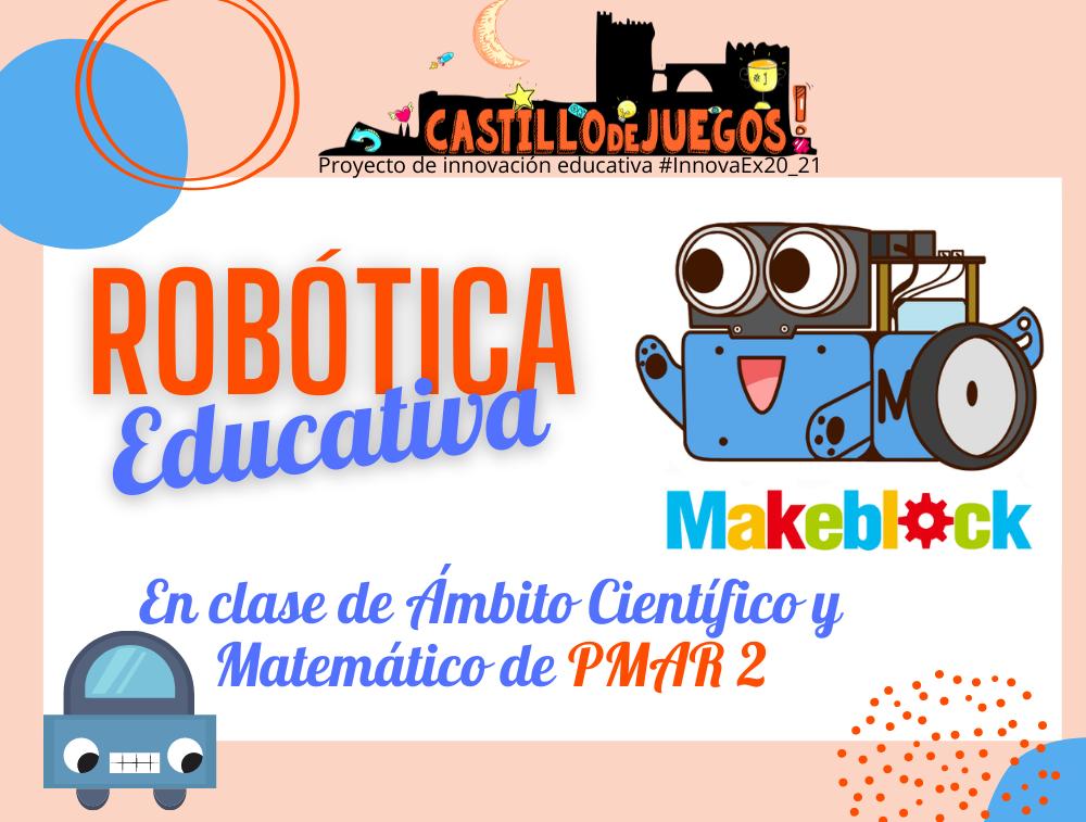 Robótica educativa en clase de PMAR 2