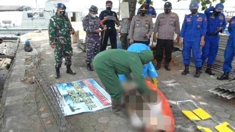 Mayat Tanpa Identitas Ditemukan Mengambang di Dermaga TNI AL Cilacap