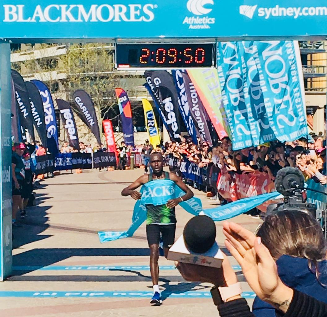 G Queen Yuri Hyuga kiprotich and barsosio break sydney marathon course records