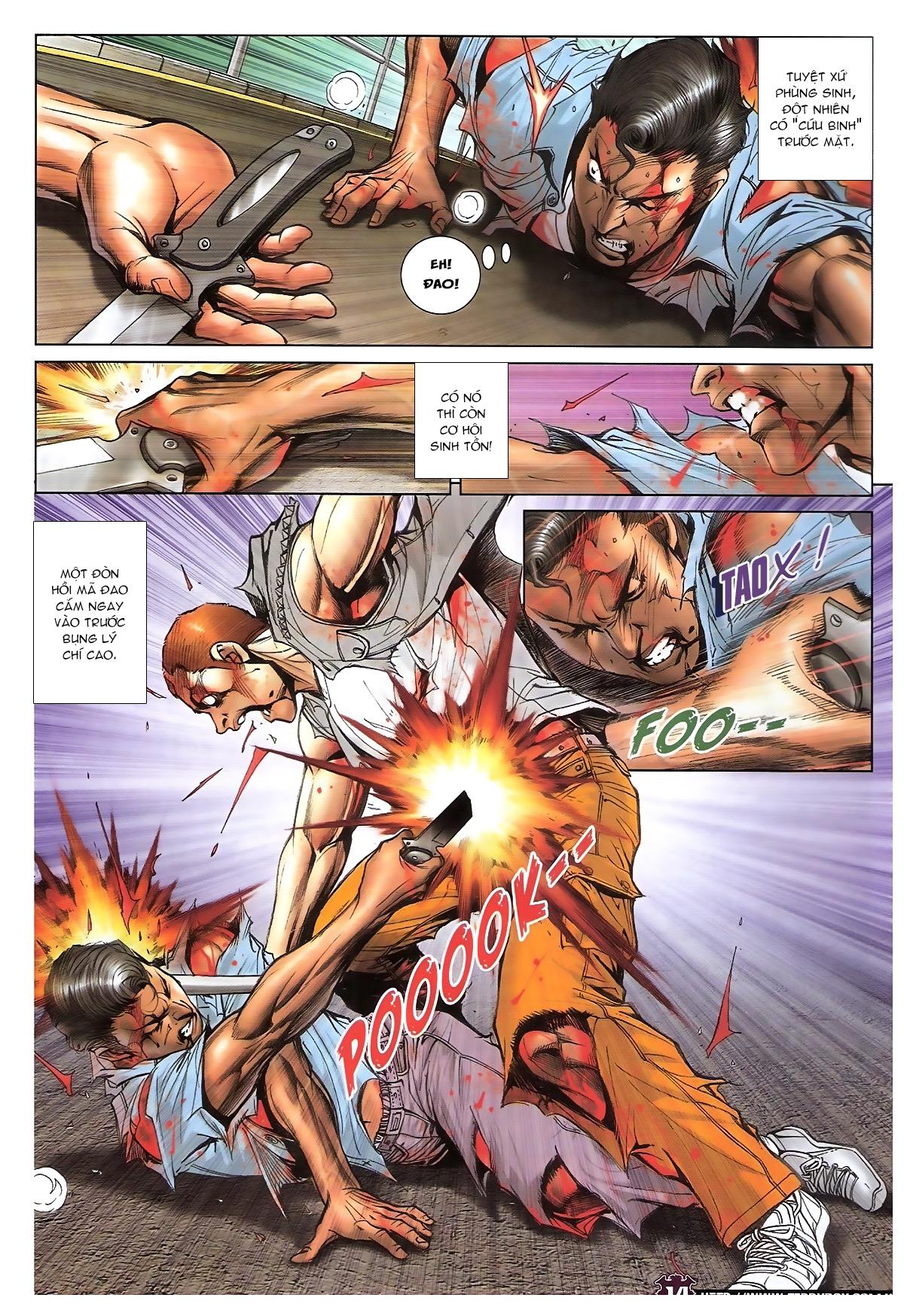 Người Trong Giang Hồ chapter 1724: tiểu đông trở về trang 12
