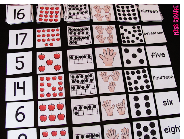 Awesome activities for learning numbers for kids of any age!