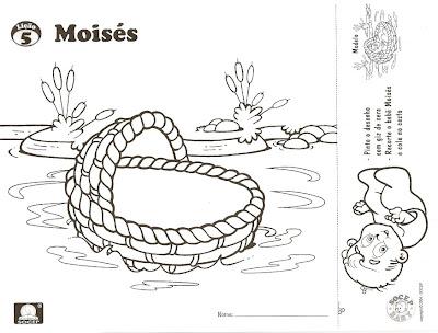 Resultado de imagem para o bebê Moisés