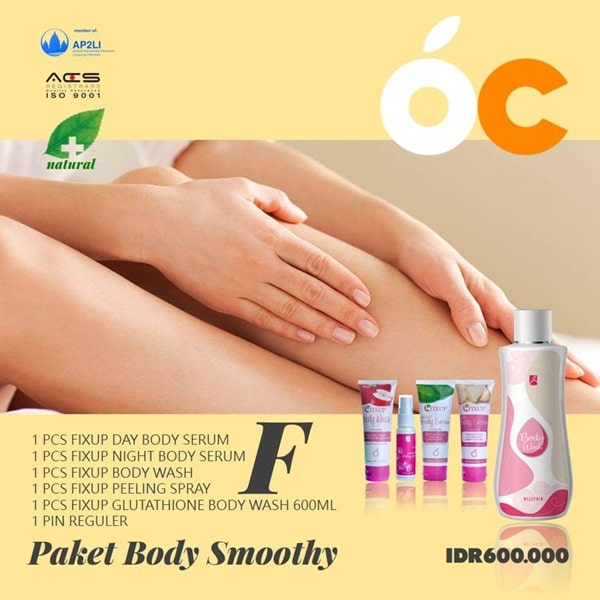 Paket Body Smoothy Ourcitrus