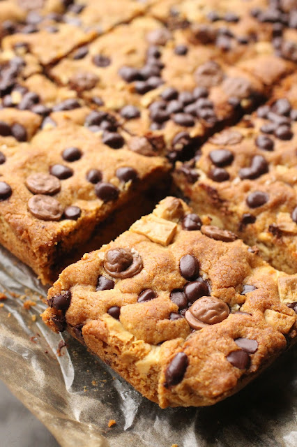 cookies bars carrés