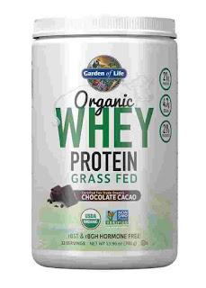 Organic Whey Protein Powder GARDEN OF LIFE