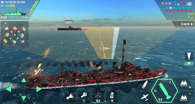 تحميل لعبة WARSHIP BATTLE مهكرة اخر اصدار مجانا للاندرويد