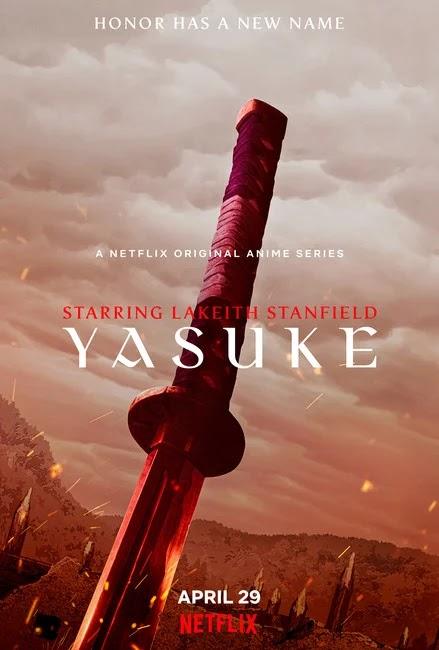 Primer trailer y visual de Yasuke, anime original de LeSean Thomas y MAPPA.