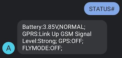 AT2 mini gps tracker status