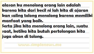 Cerita tentang pengalaman menolong orang lain dan Mengapa kita perlu menolong orang lain www.simplenews.me