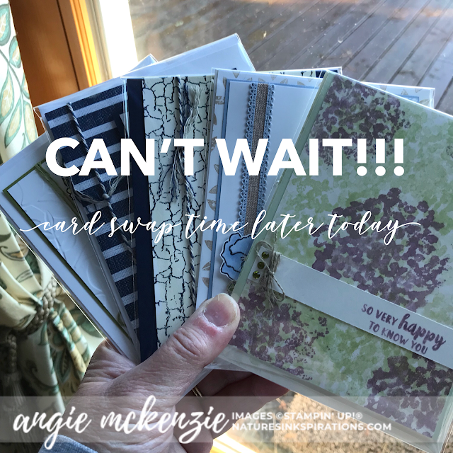 A Little Smile in Columbus | My CARD SWAPS | Nature's INKspirations by Angie McKenzie
