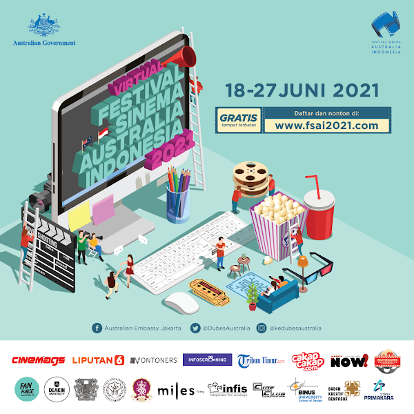 Festival Sinema Australia Indonesia 2021 Kembali Hadir!