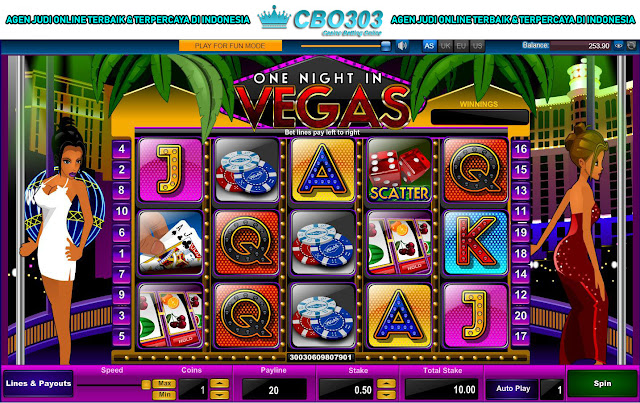 Cara Bermain One Night In Vegas Di CBO303