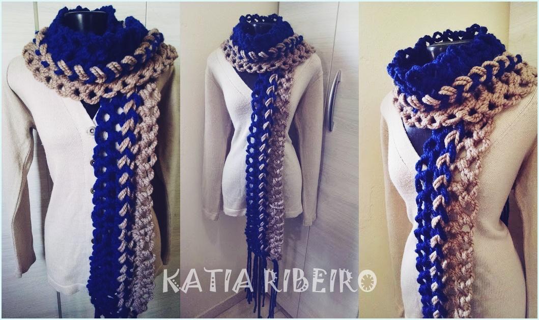 Katia Ribeiro Crochê Moda e Decoração - Crochê com Gráficos b882547fb8f