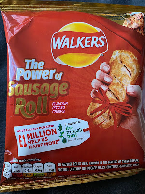Walkers Sausage Roll Flavour Crisps (2020)