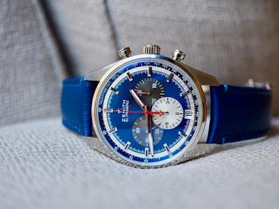 On The Wrist: Zenith Chronomaster 42mm Blue Dial