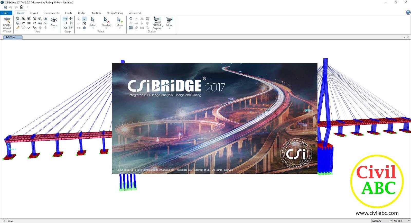 CSiBridge 2017 v19 2 0 (x86/x64) Free Download - Civil