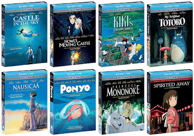 GKIDS Studio Ghibli Blu-Ray