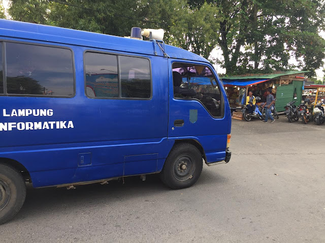 Pemprov Lampung Himbau Warga Kota Metro, Mobil dengan pengeras suara kini menyusuri jalanan