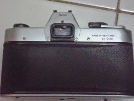 Rolleiflex SL35 tampak belakang