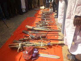 ADAMAWA POLICE PARADES 51 SHILA BOYS, RECEIVES 11 REPENTANT KIDNAPPERS