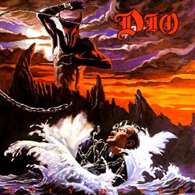 Portada del Album de Dio Holy Diver