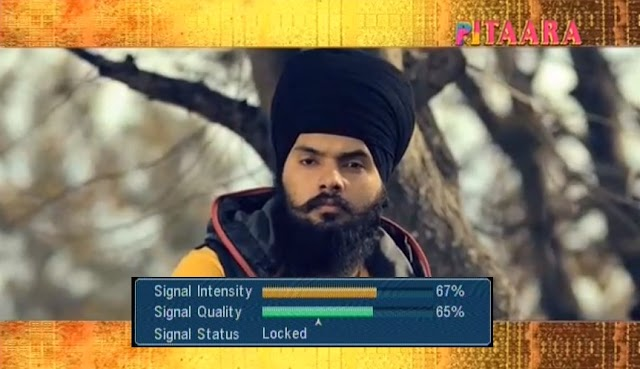 """Pitaara TV"" - World's First Punjabi Movie channel Test Feed on Insat 4A Satellite"