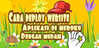 Cara deploy projects di heroku