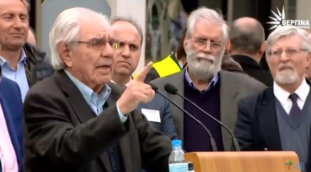 """Γιώργος Κασιμάτης: """"Η Ελλάδα είναι εδώ, ολόκληρη και λέει ΟΧΙ, δεν δίνουμε ούτε ένα χιλιοστό από την μεγάλη σελίδα της Ιστορίας μας!"""""""