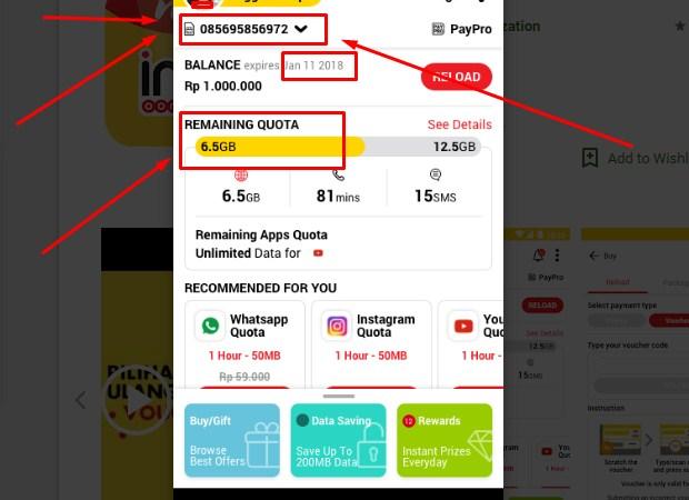 Cara Cek Pulsa Indosat Dengan Aplikasi myIM3 Terbaru 2019 ii